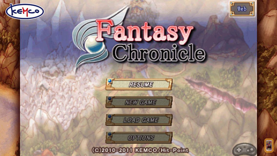 Screenshot - RPG - Fantasy Chronicle