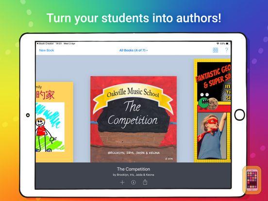 Screenshot - Book Creator for iPad