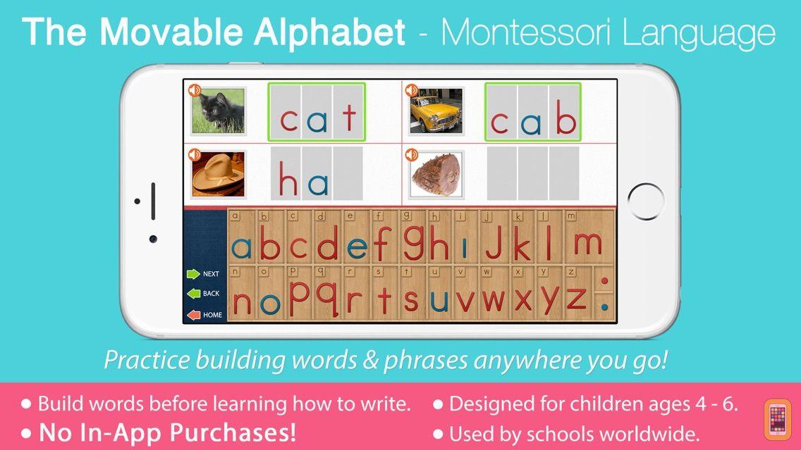 Screenshot - Montessori Movable Alphabet