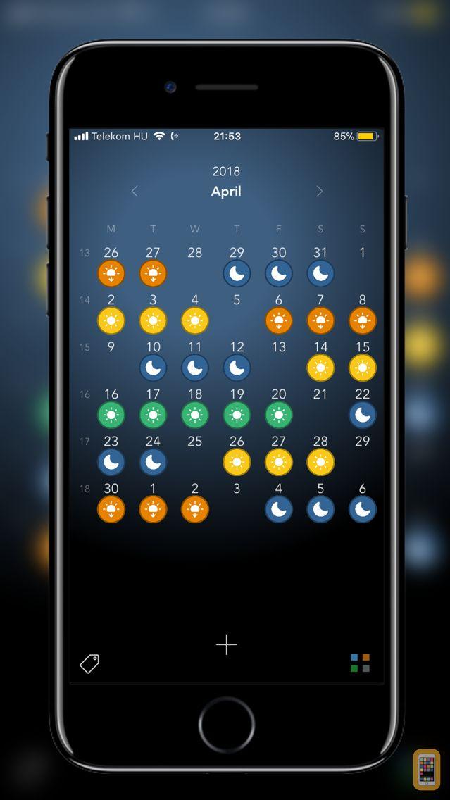 Screenshot - Visual Calendar