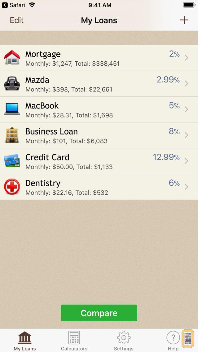Screenshot - Loan Calculator +