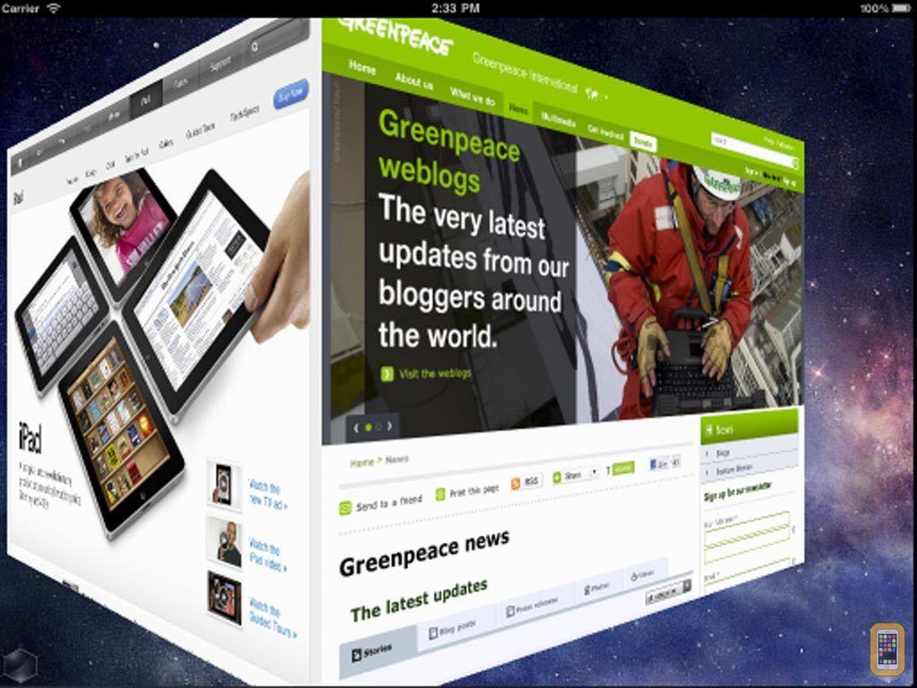 Screenshot - 3D Web Browser Pro