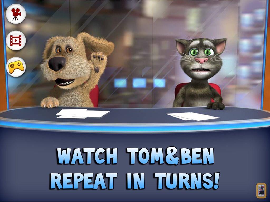 Screenshot - Talking Tom News for iPad
