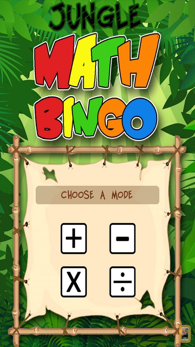 Screenshot - Jungle Math Bingo