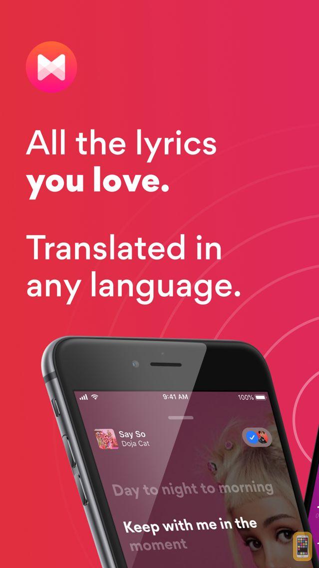 Screenshot - Musixmatch Lyrics Finder
