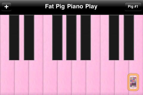 Screenshot - Fat Pig Piano Play FREE