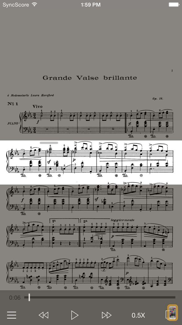 Screenshot - Chopin Works - SyncScore