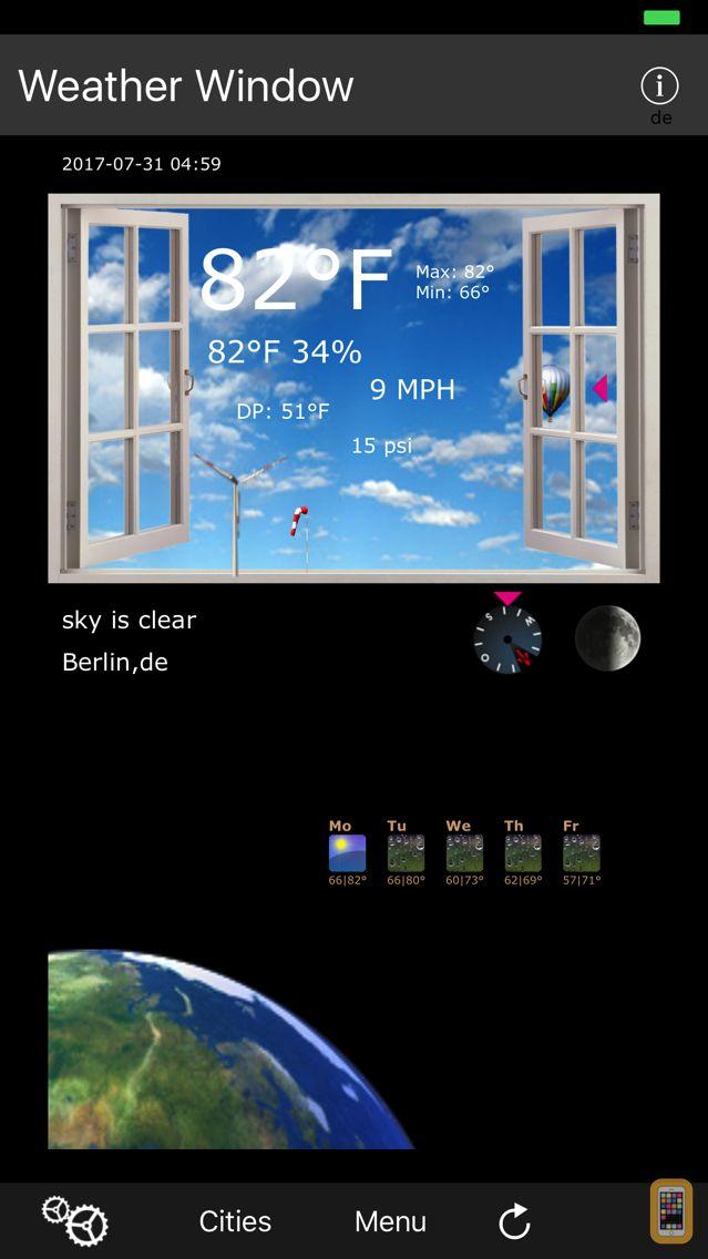 Screenshot - Weather Window