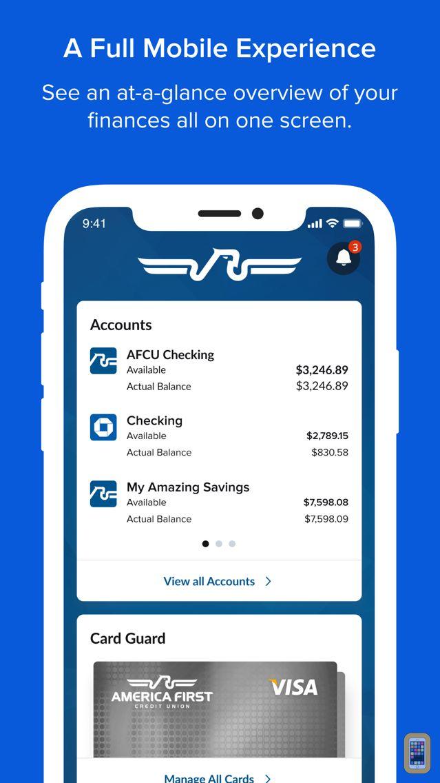 Screenshot - America First Credit Union
