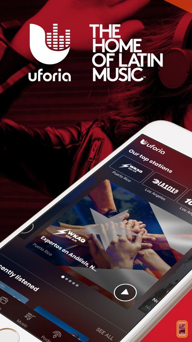 Screenshot - Uforia: Radio, Podcast, Music