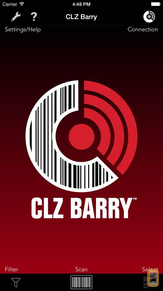 Screenshot - CLZ Barry - Wireless Barcode Scanner