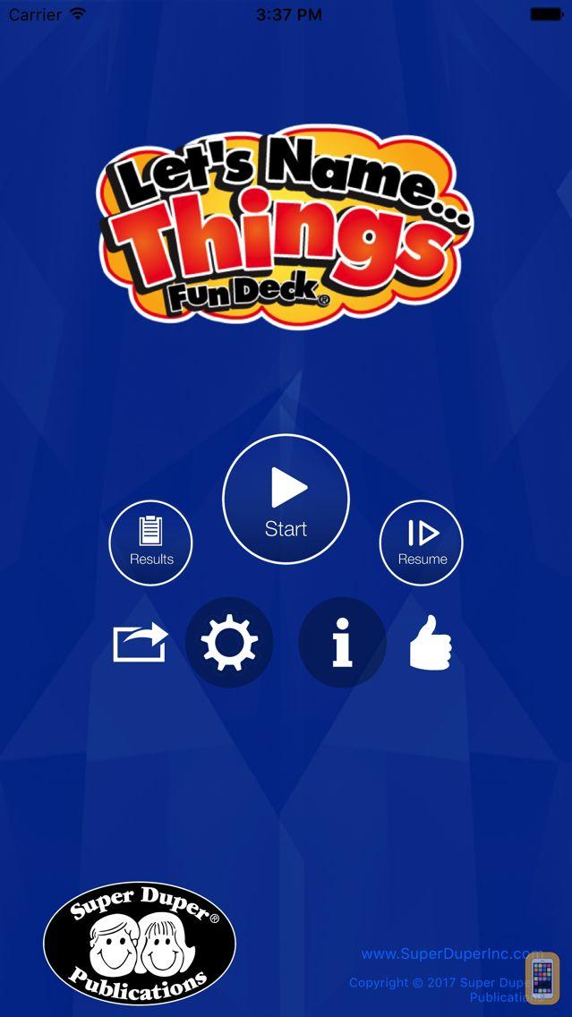 Screenshot - Let's Name Things Fun Deck