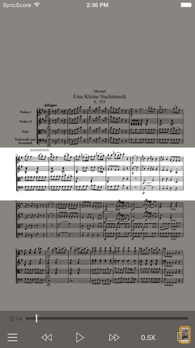 Screenshot - Mozart Eine kleine Nachtmusik