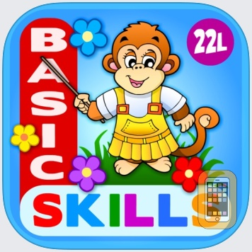 Abby Monkey Basic Skills Pre K by 22learn, LLC (Universal)