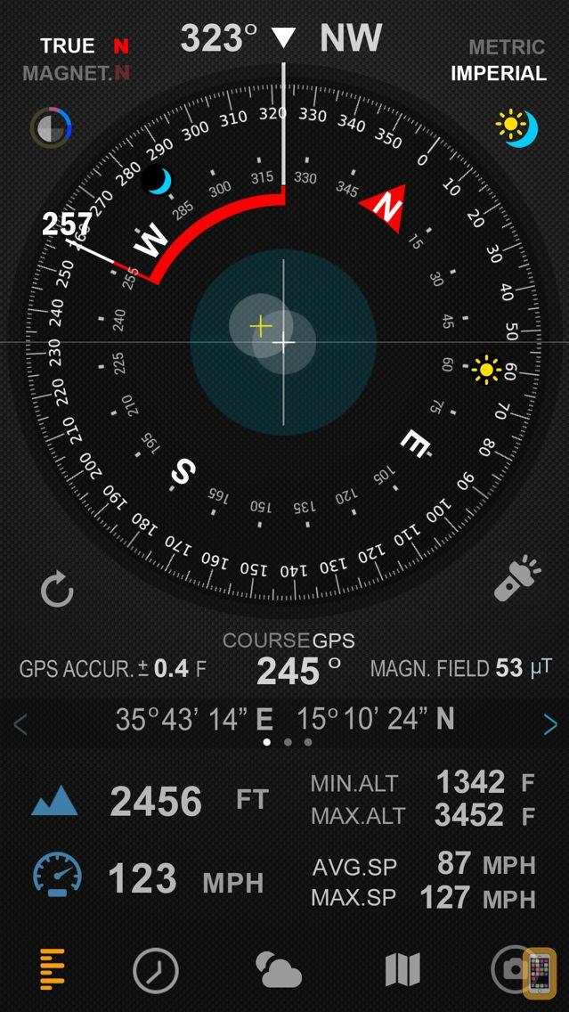 Screenshot - Compass 54 Pro