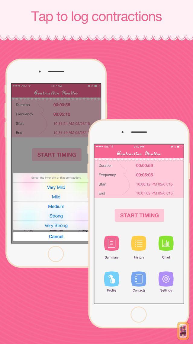Screenshot - Contraction Monitor Pro