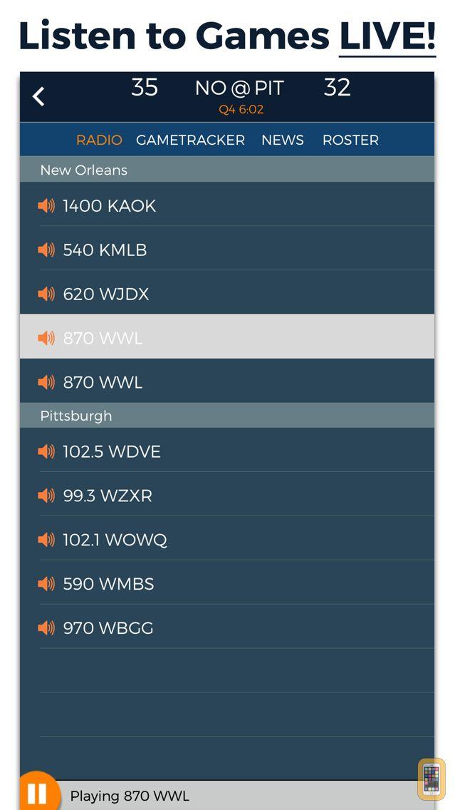 Screenshot - Pro Football Radio & Live Scores