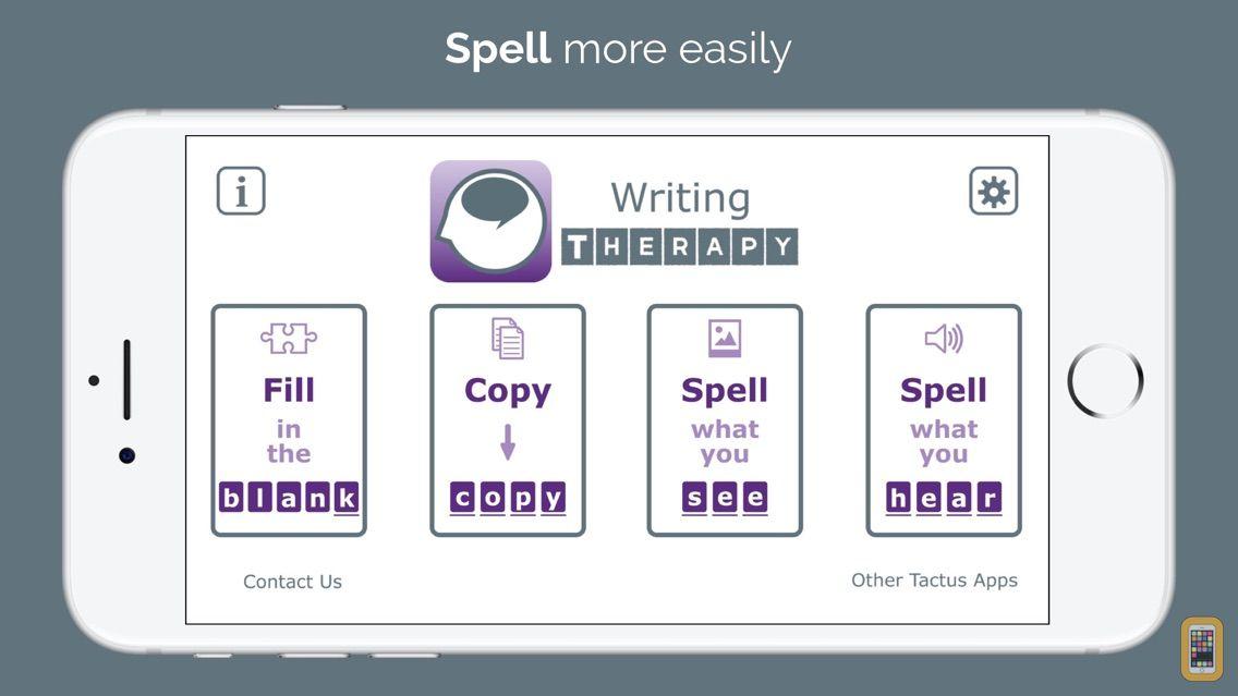 Screenshot - Writing Therapy