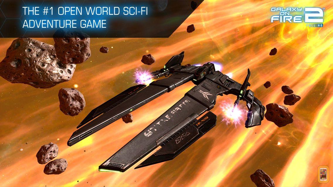Screenshot - Galaxy on Fire 2™ HD