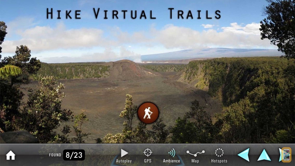 Screenshot - Explore Kilauea Volcano