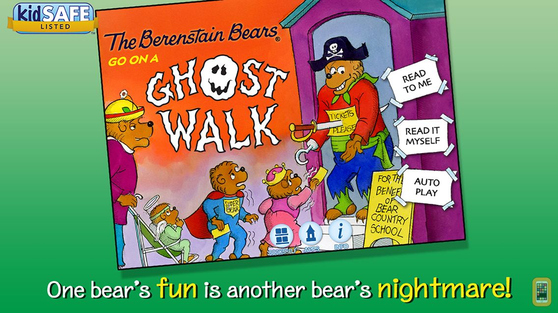 Screenshot - Berenstain Bears - Ghost Walk