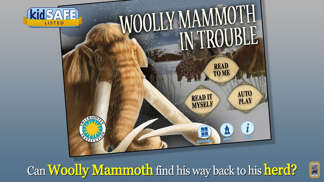 Screenshot - Woolly Mammoth In Trouble - Smithsonian