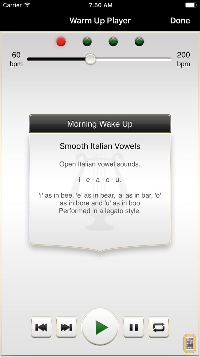 Screenshot - Vocal Warm Up by Musicopoulos