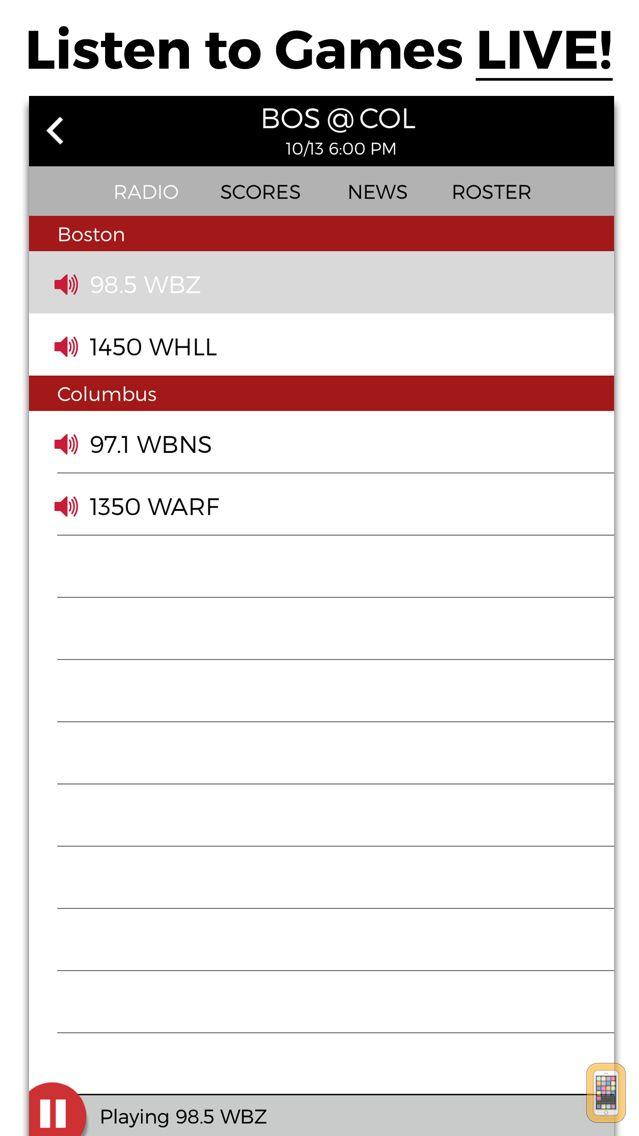 Screenshot - Hockey Radio