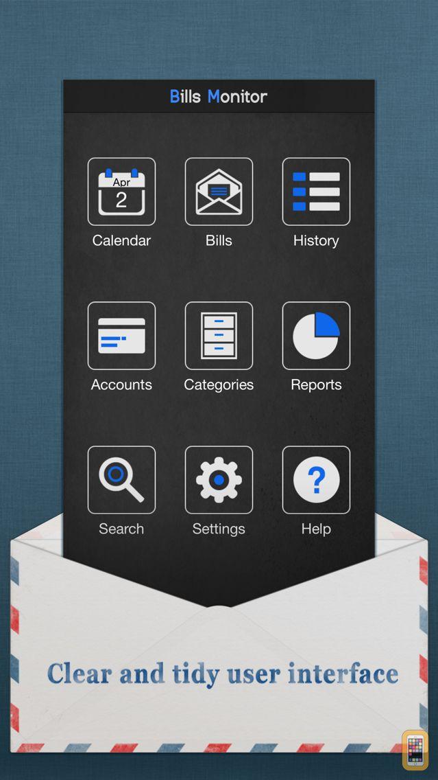 Screenshot - Bills Monitor Pro - Bill Manager & Reminder