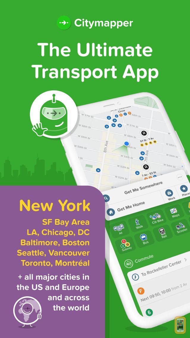 Screenshot - Citymapper: All Your Transit