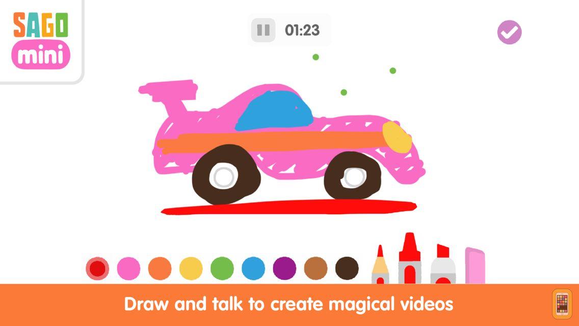 Screenshot - Sago Mini Doodlecast