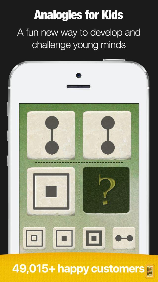 Screenshot - Little Solver - Figural Analogies