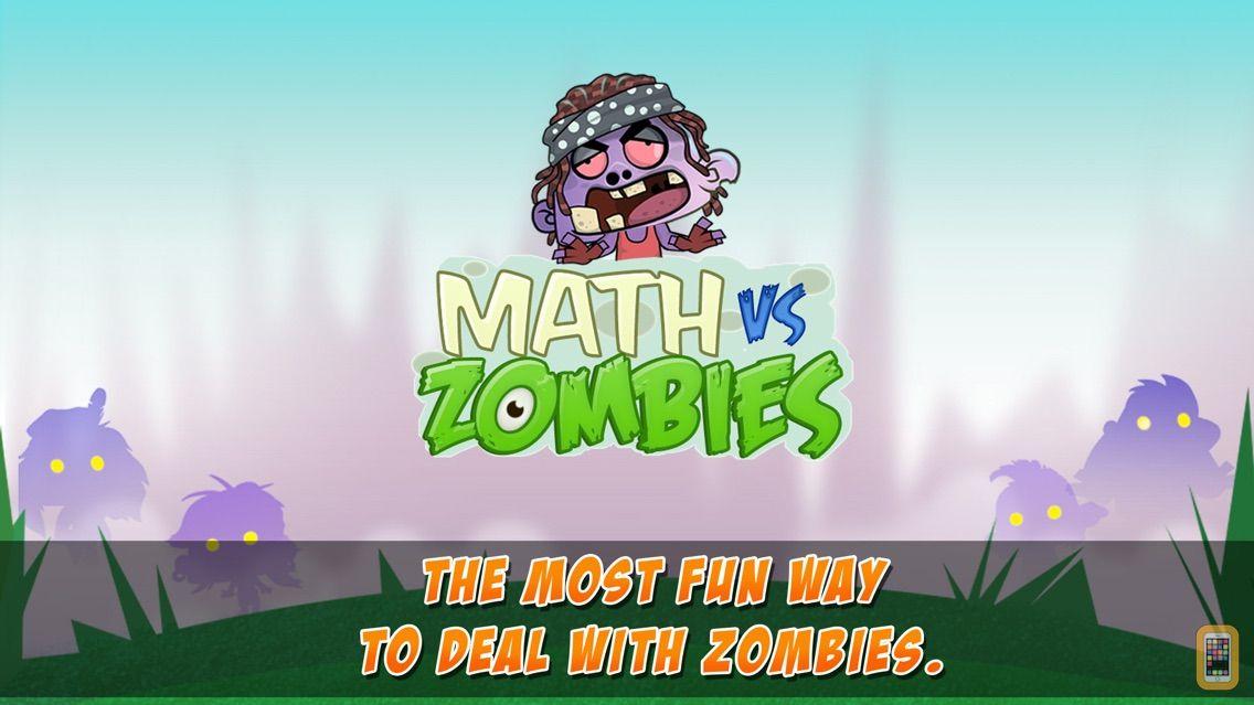 Screenshot - Math Vs Zombies - Math Games Grade K - 5