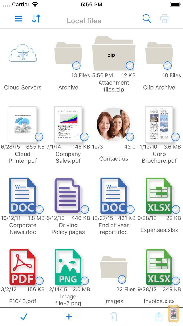 Screenshot - Print n Share Pro for iPhone