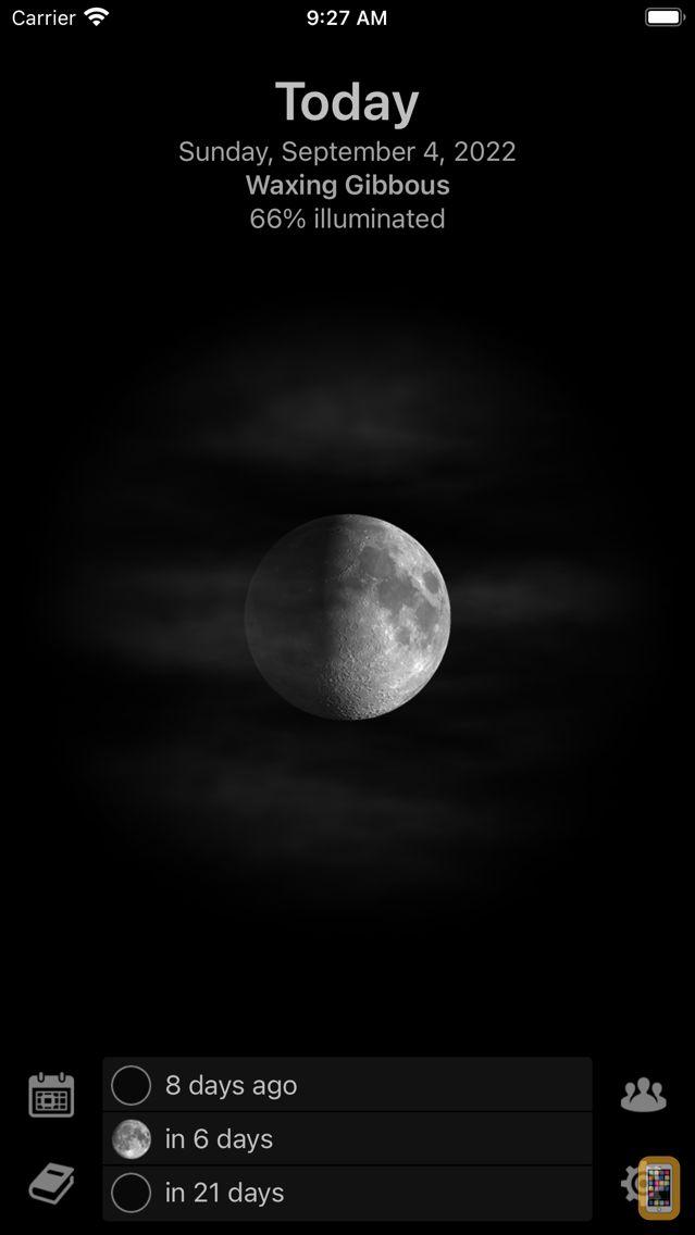 Screenshot - Mooncast