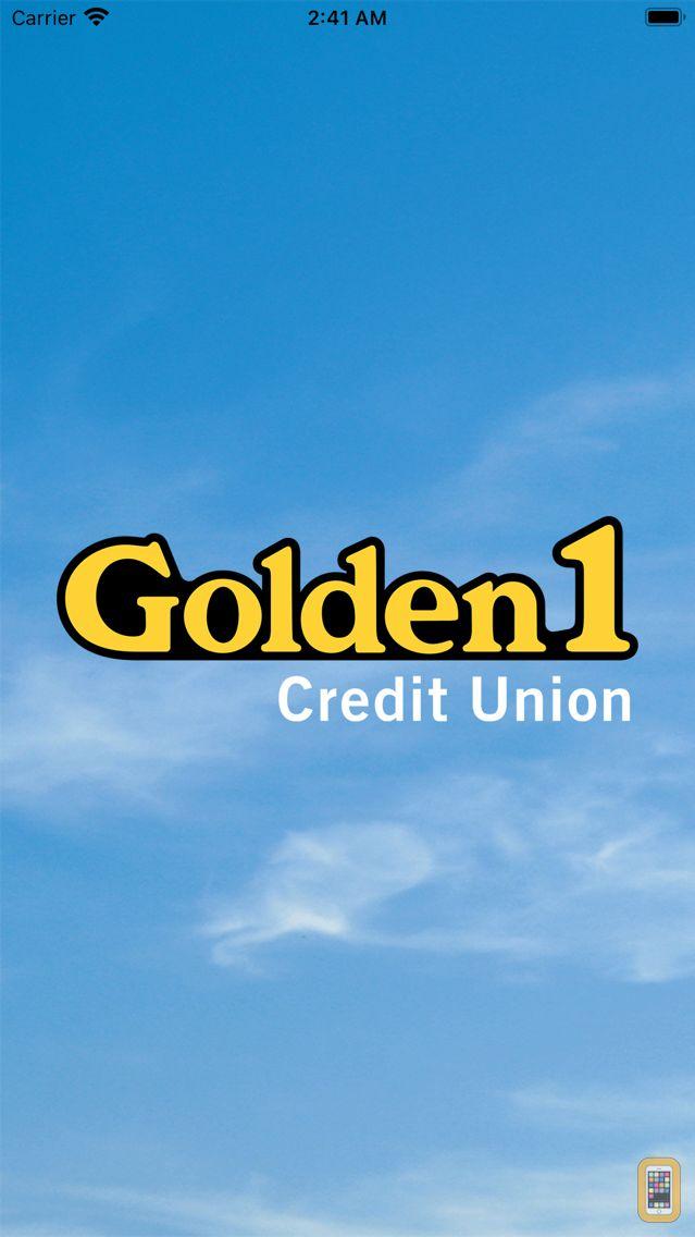 Screenshot - Golden 1 Mobile