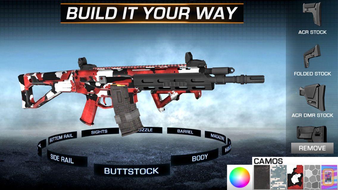 Screenshot - Gun Builder ELITE - Modern Weapons, Sniper & Assault Rifles