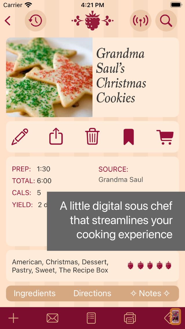 Screenshot - The Recipe Box To Go — Your Pocket, Your Recipes