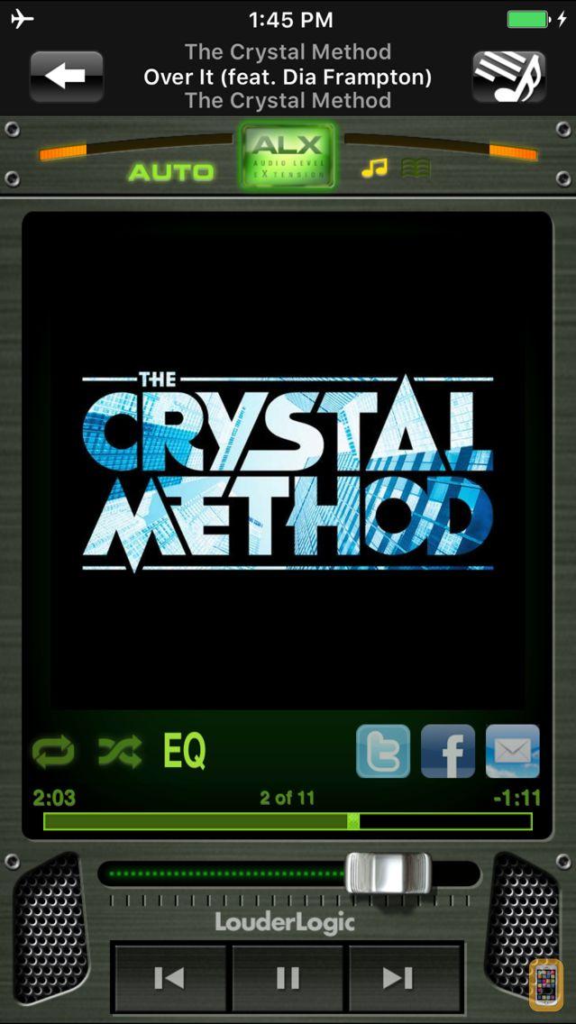 Screenshot - LouderLogic for iPhone