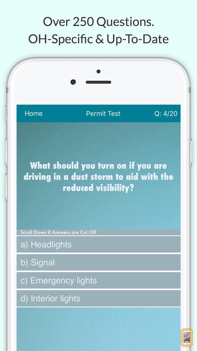 Screenshot - Ohio BMV Driving Test