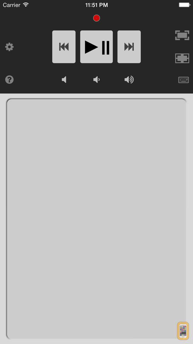 Screenshot - Remote to Netflix