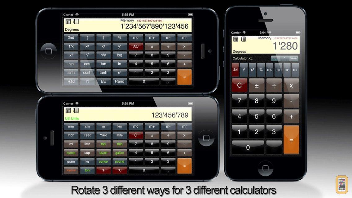 Screenshot - Calculator XL - Standard Scientific Unit Converter