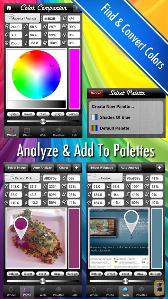Screenshot - Color Companion - Analyzer & Converter