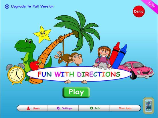 Screenshot - Fun With Directions HD Lite