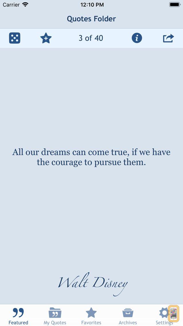 Screenshot - Quotes Folder