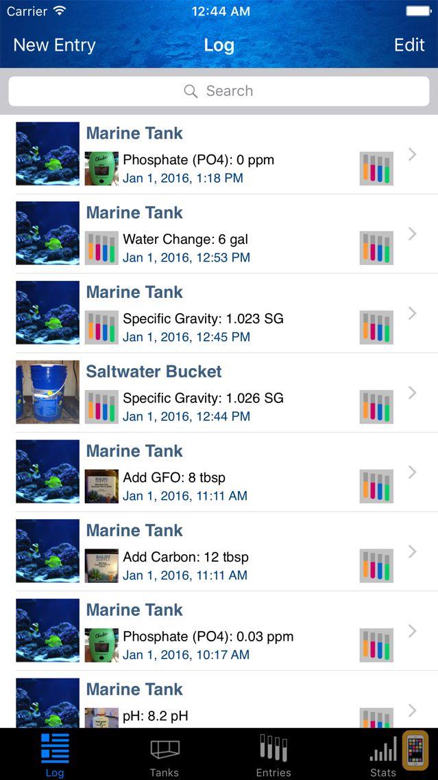 Screenshot - Reef Tank Pro