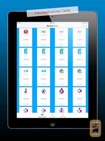 Screenshot - Business Cards HD for Adobe Illustrator®