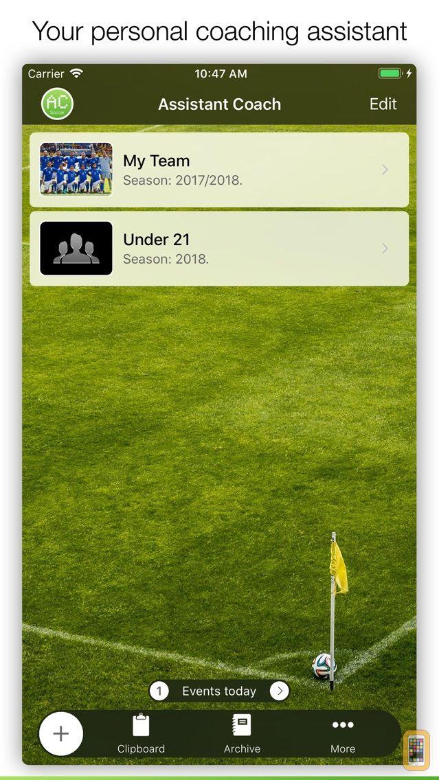 Screenshot - Assistant Coach Soccer