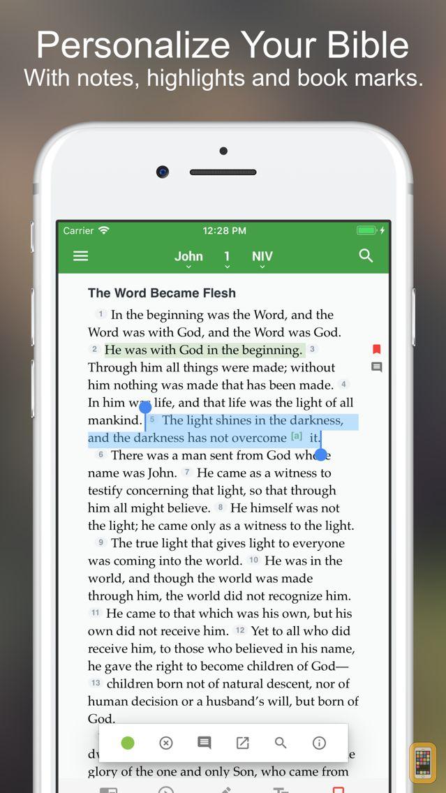 Screenshot - The One Bible App