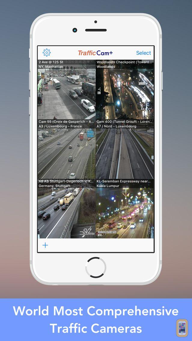 Screenshot - Traffic Cam+